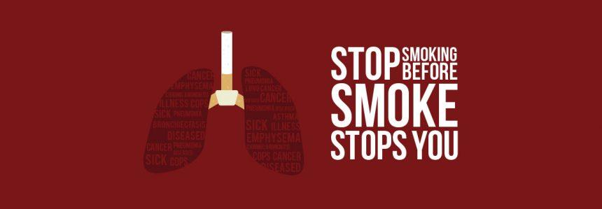 Il 31 maggio è la giornata mondiale senza tabacco